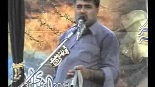 Zakir Nasir Abbas Notak majlis Shahadat imam Mousa Kazim ,as,