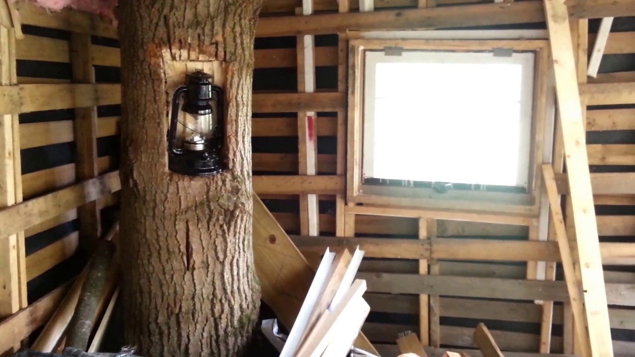 Tiny House Off Grid Pallet Cabin Part 9 Youtube