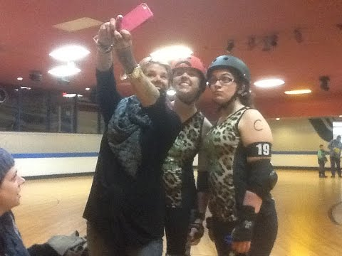 Teenagers Roller Derby