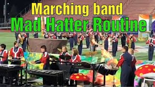 Piqua High School Marching Band 2018 Mad Hatter Routine