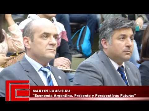 Martín Lousteau - Economía Argentina. Presente y perspectivas futuras
