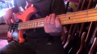 Ibanez Blazer Bass Double P - sex machine 2nd attempt