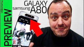 Samsung Galaxy A80 -con cámara GIRATORIA-