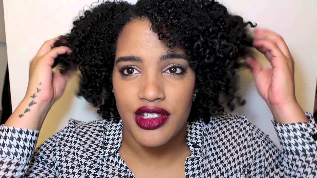 My Wash and Go Routine 3b 3c hair
