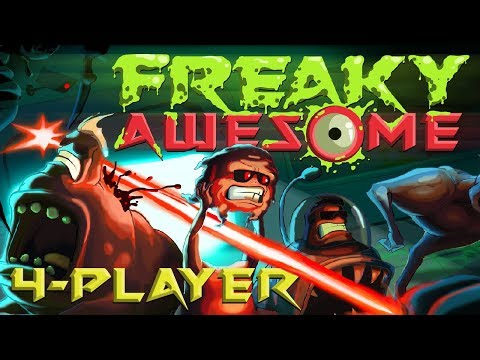Freaky Awesome - Mutate Your Way to Victory! (4 Player Gameplay)