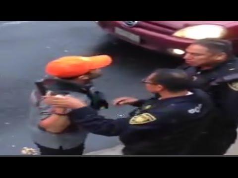 Militar amenaza con matar a policía por supuestamente faltarle al respeto