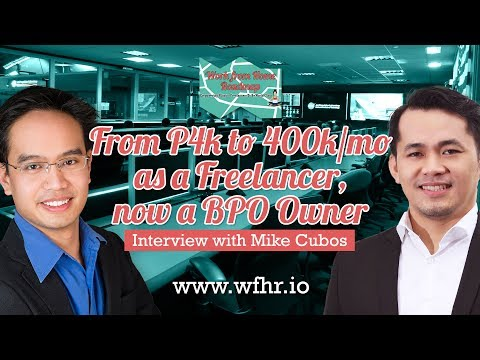 🔴 From P4k to P400k/mo as a Freelancer now a BPO Owner | Mik
