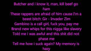 Bonfire lyrics by Childish Gambino