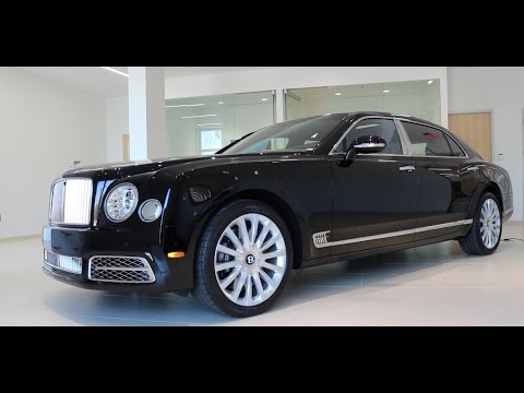 2017 Bentley Mulsanne Extended Wheelbase (EWB) Review