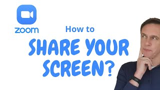 How to share your screen in Zoom meetings