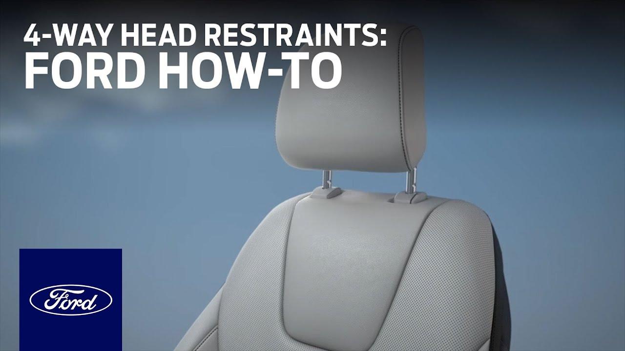Head restraint adjustment