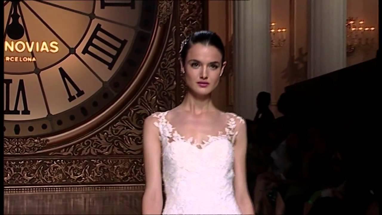 PRONOVIAS 2016, Wedding Dresses 2016, Barcelona , Show ...