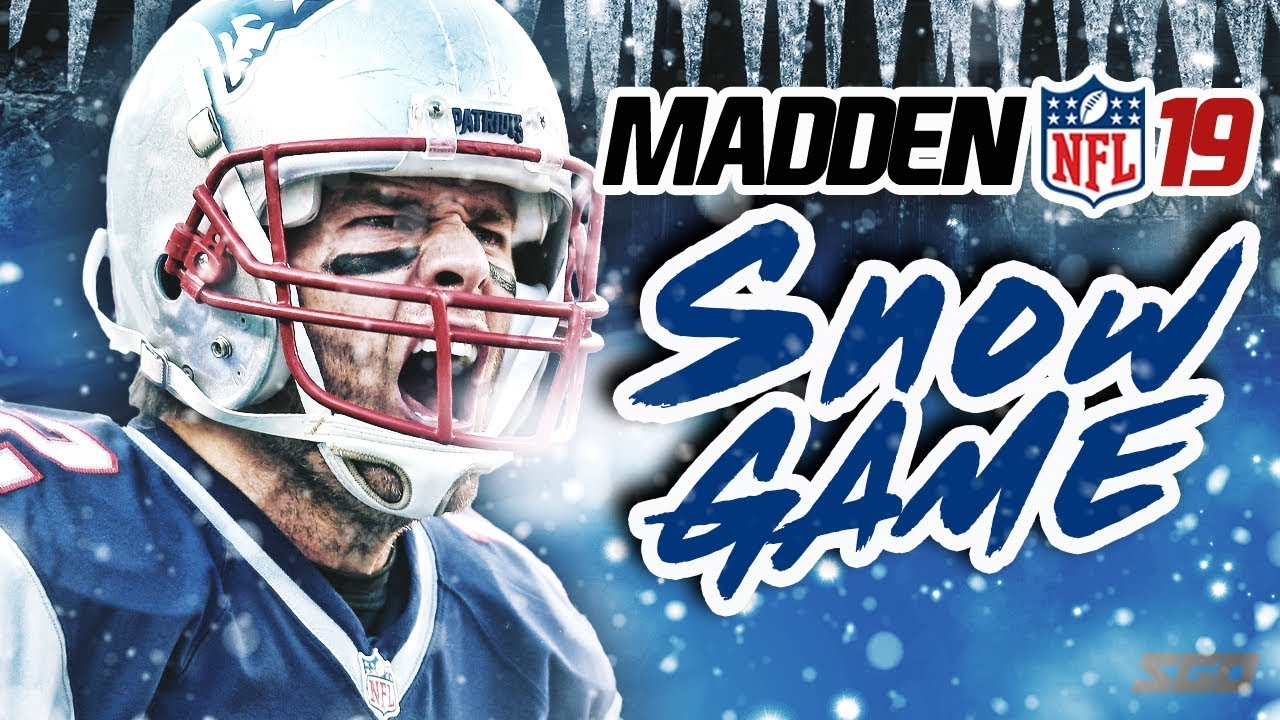 Madden NFL 19 Snow Gameplay! Patriots vs Raiders - Tuck Rule Part 2?
