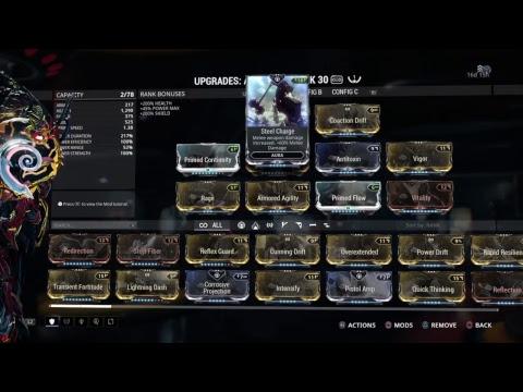 Warframe 101 How To Increase Mod Capacity