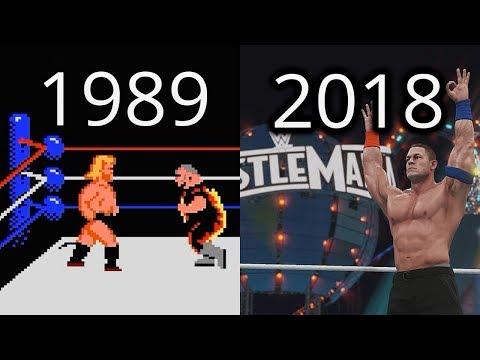 LA EVOLUCIÓN DE JUEGOS DE WWE (EVOLUTION OF WWE GAMES)
