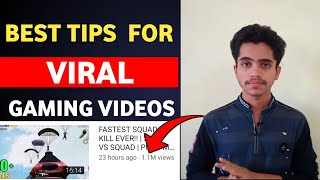 How to Grow Gaming Channel On YouTube | Best Tips for Viral Gaming Videos Pubg,Free Fire,Cod