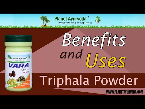 how to prepare triphala churna