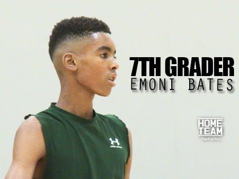 6'5 Emoni Bates The BEST 7th Grader In The World??