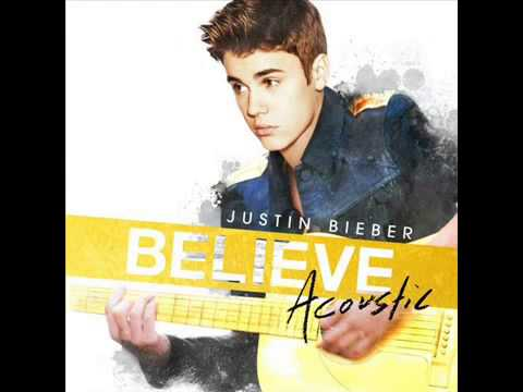 Justin Bieber - Yellow Raincoat  (Believe Acoustic)