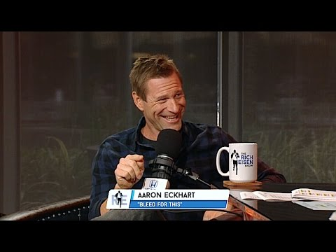 Actor Aaron Eckhart tells a great