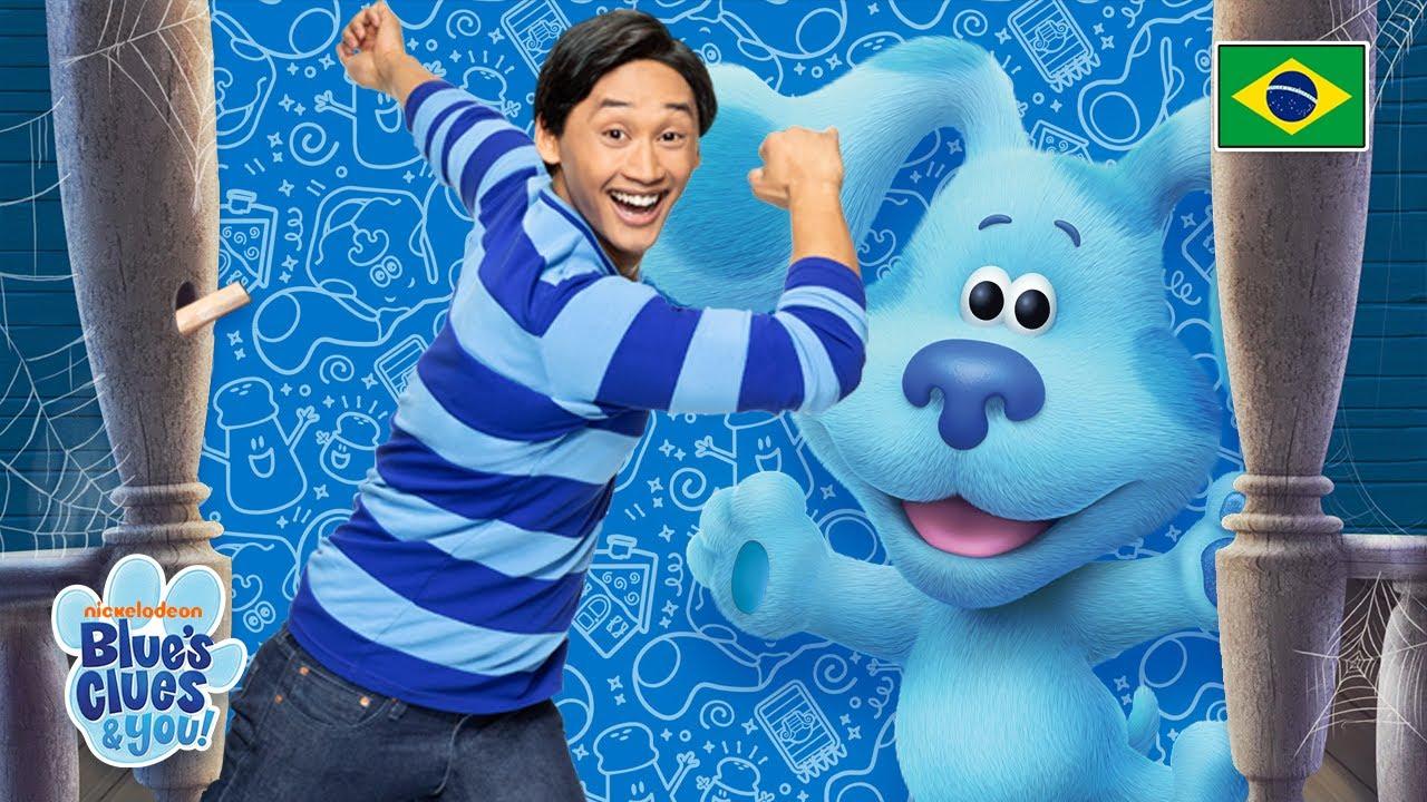 A Casa Assombrada de Blue com Josh   Blue's Clues & You!