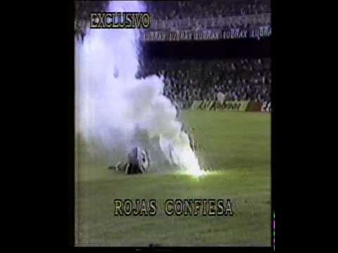 ELIMINATORIAS ITALIA 90 - Brasil vs Chile 2-0 El arquero chileno Rojas confiesa.