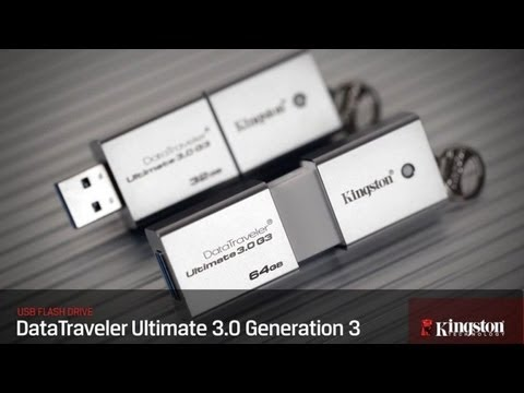 Kingston DataTraveler Ultimate G3 USB 3.0 32GB [Review]