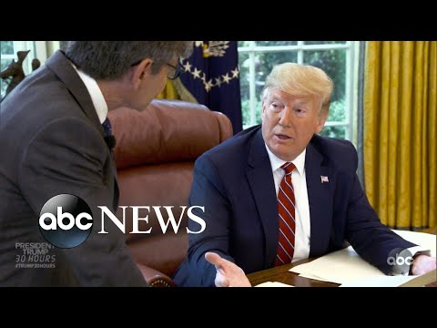 President Trump: 30 Hours l Interview with George Stephanopoulos l Part 2