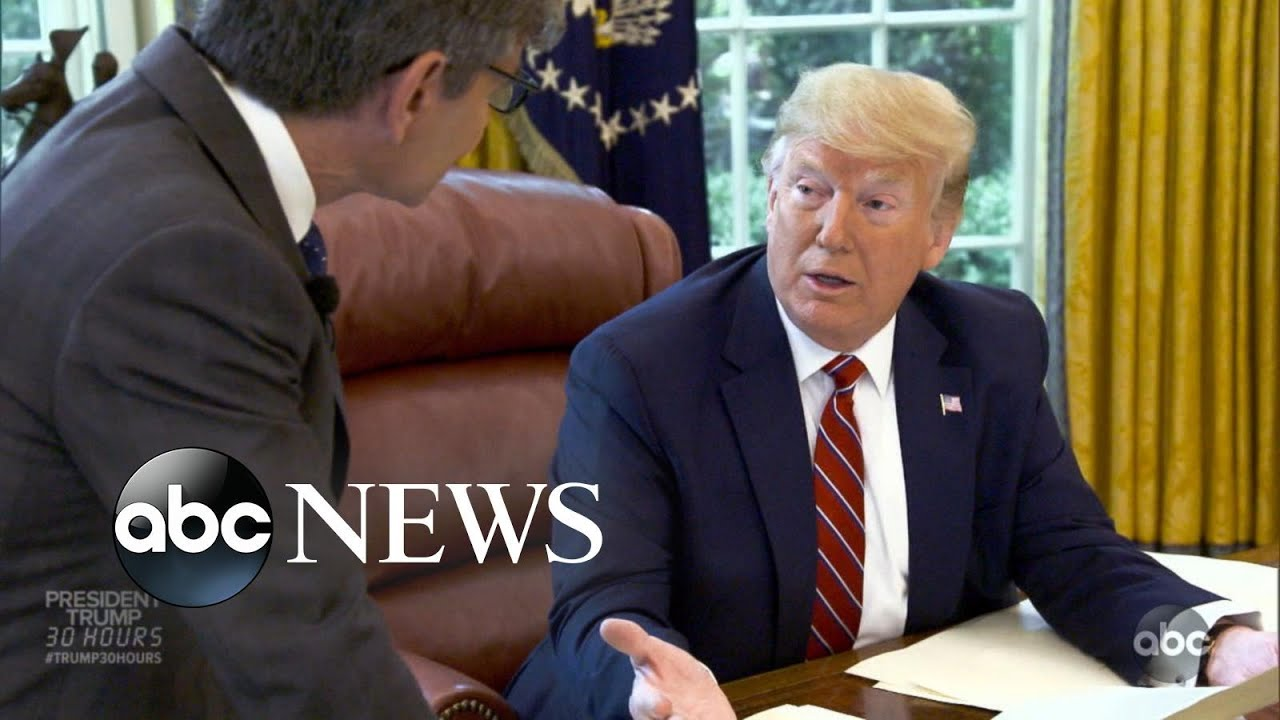 ABC News:Trump on Mueller, immigration and putting his personal touch on Oval Office: Part 2