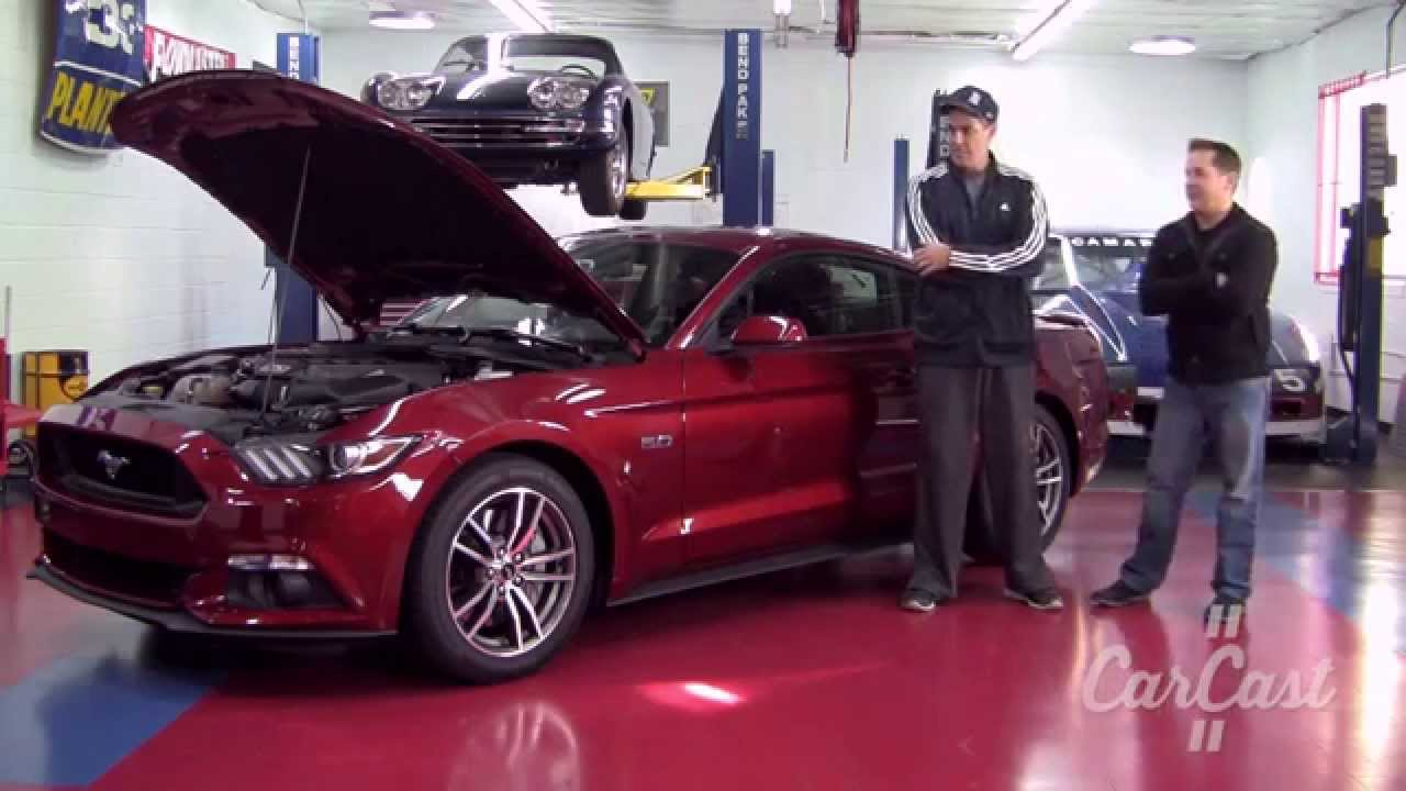 2015 Ford Mustang Gt Carcast With Adam Carolla Youtube
