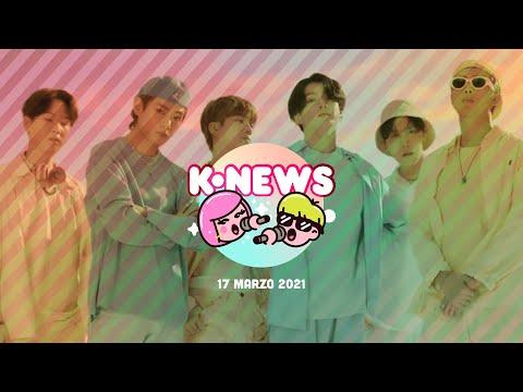 BTS, Rosé de BLACKPINK, Brave Girls y más en las KNews | 17 de marzo