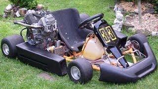 un karting avec un moteur de r1