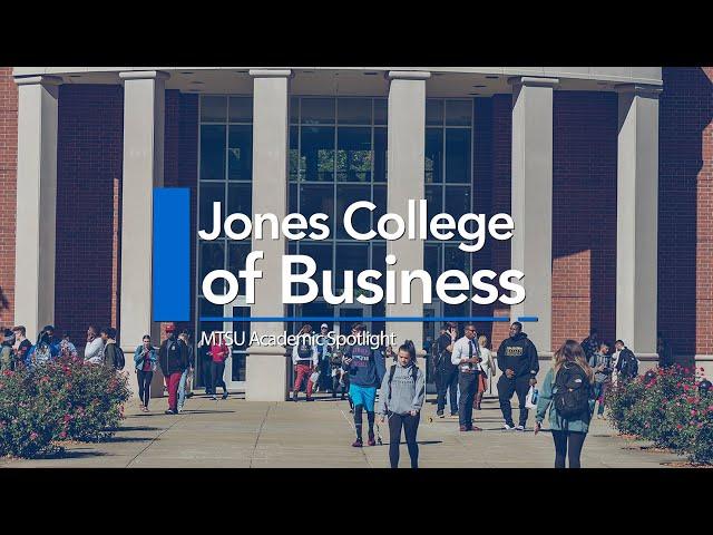 Academic Spotlight | Jones College of Business