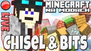 Minecraft na Modach ◾️ Zabawa z Chisel&Bits ◾️ #019 ◾️ PL