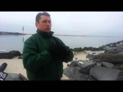 Island Beach State Park Opening - Jetty