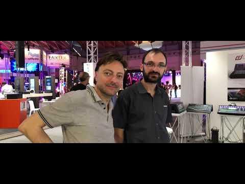 MIR 2018: Allen & Heath dLive and SQ mixer console