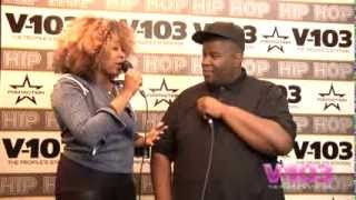 Salaam Remi At The V-103 Hip Hop Conference With Ramona DeBreaux