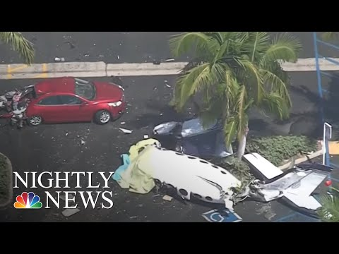 New Video Of Southern California Plane Crash That Killed Five | NBC Nightly News Mp3