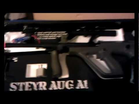 EVIKE BONEYARD DOLLAR ASG AUG AIRSOFT GUN