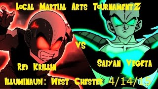 LMAT: Illuminaudi WC 4/14/15 R2 Saiyan Vegeta vs Red Krillin