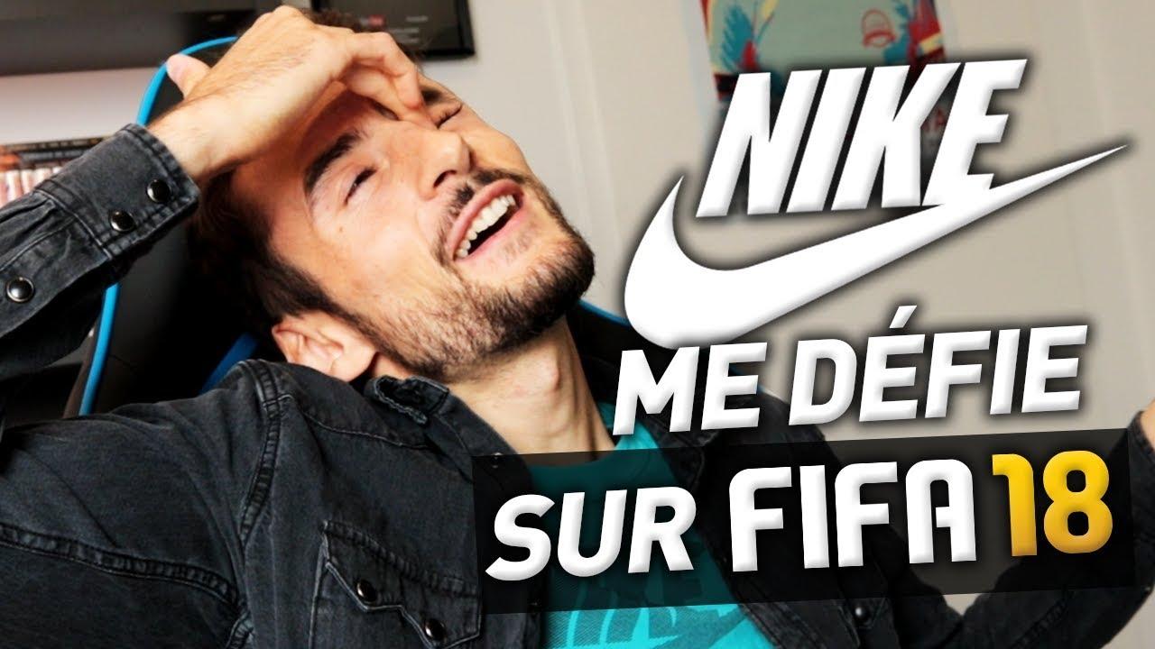 NIKE ME DÉFIE SUR FIFA 18 !