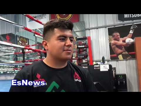 UFC Star Jose Aldo On Mayweather vs McGregor Glove Size EsNews Boxing