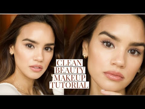 CLEAN BEAUTY TUTORIAL! TOXIC FREE, CRUELTY FREE! | DACEY CASH
