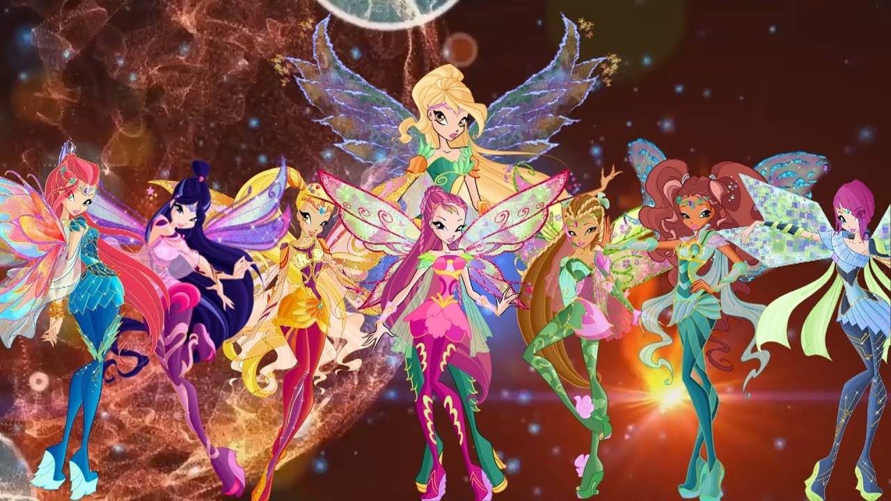 Winx club season 6 full bloomix with daphne and roxy - Winx magic bloomix ...