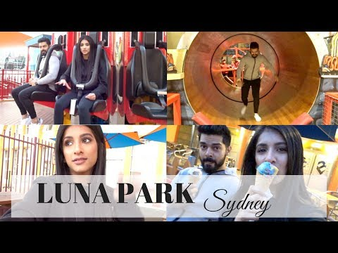 LUNA PARK SYDNEY | VLOG | THE LIFE OF B
