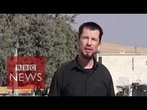 Islamic State hostage John Cantlie 'reports' from Kobane