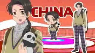 Gakuen Hetalia PSP Commercial