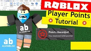 Roblox Player Points Tutorial