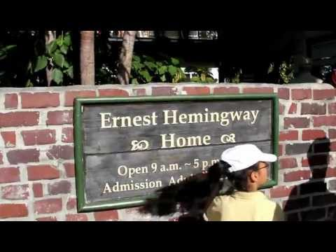 Ernest Hemingway House - Key West, Florida