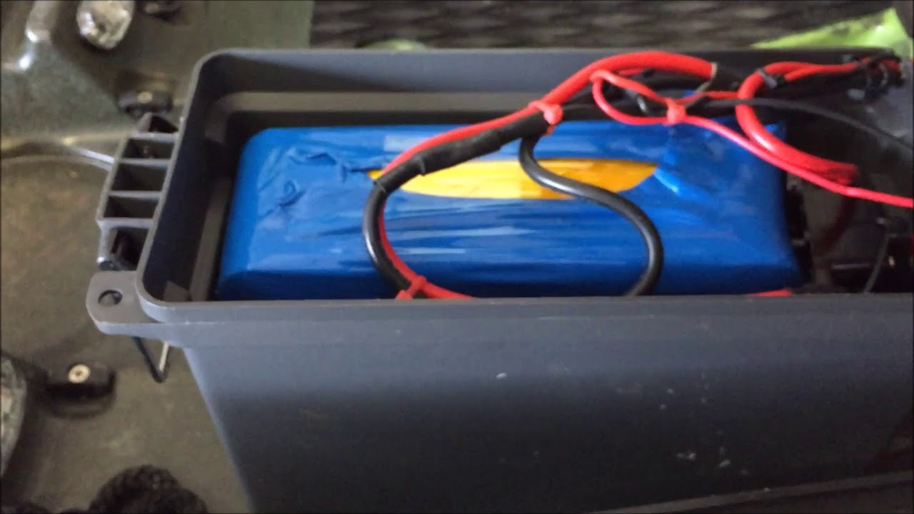 dual trolling motor battery wiring diagram [ 1280 x 720 Pixel ]